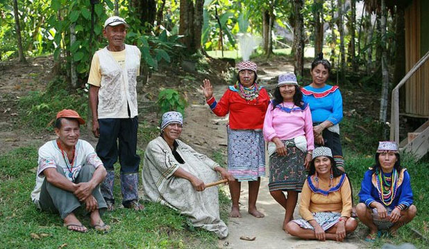Photo of Shipibo people at The Temple of The Way of Light from Stuff.Co