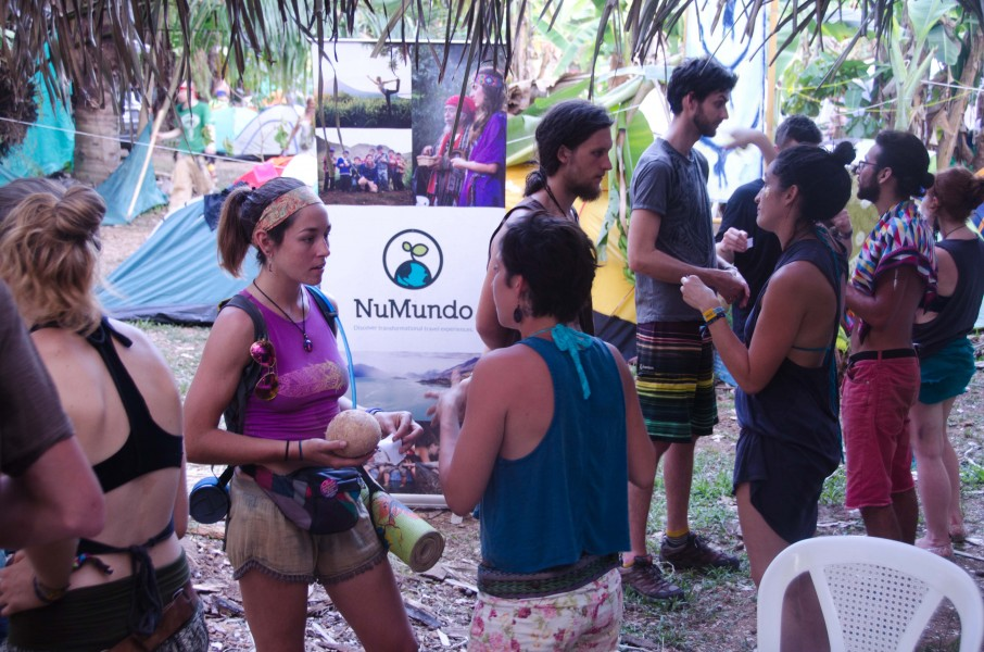 NuMundo's Eco Speed Dating Session by the Networking Board: participants discussed fun topics in 3 minutes.