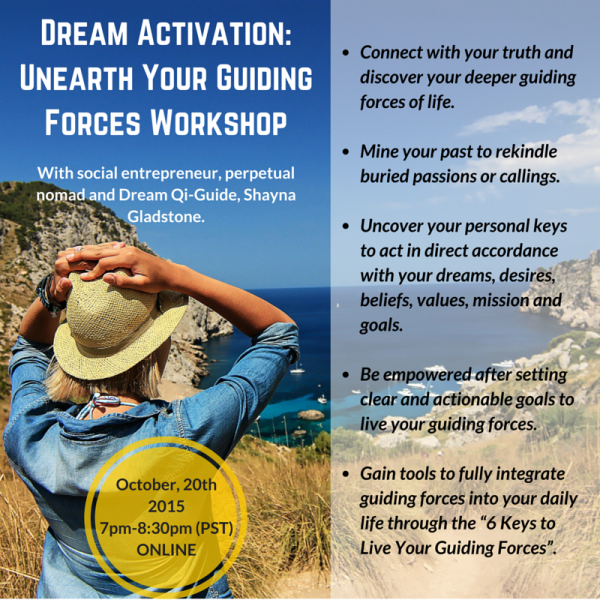 Dream Activation- Unearth Your Guiding Forces Workshop
