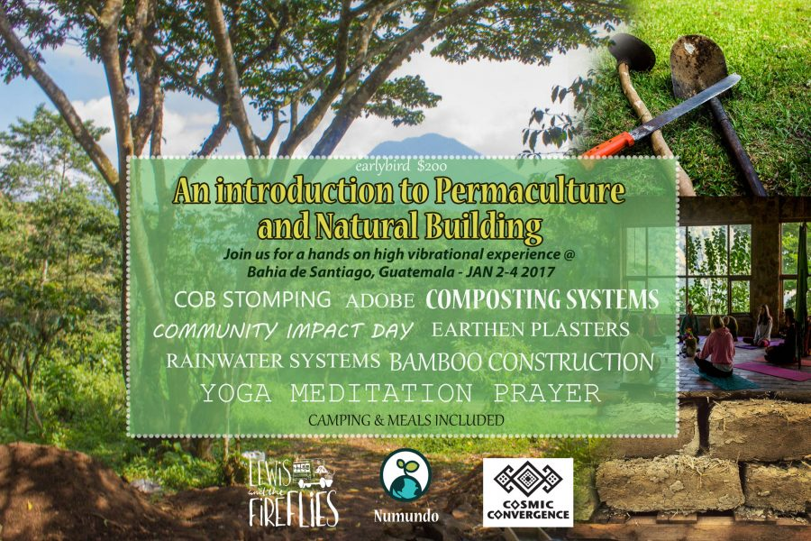 An introduction to Permaculture and Natural Building - 2-4 January