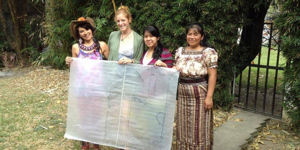 Earth Odyssey Begins Natural Dye Garden at Women's Co-Op in Guatemala