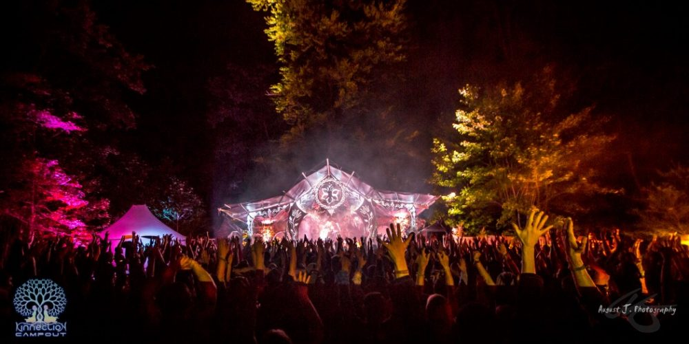 'The Fountain Of Power' At Kinnection Campout: An open letter on how intentional gatherings are helping US survive climate change