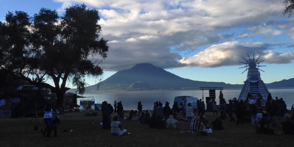 A Cosmic Gathering to Vision a New World in Lake Atitlan, Guatemala