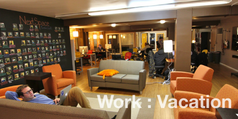 Co-Working: The Dissolving Line Between Work & Play – David Casey