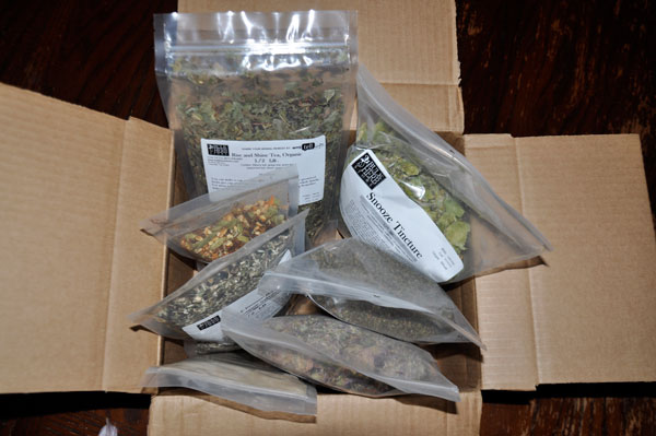 packaged herbs